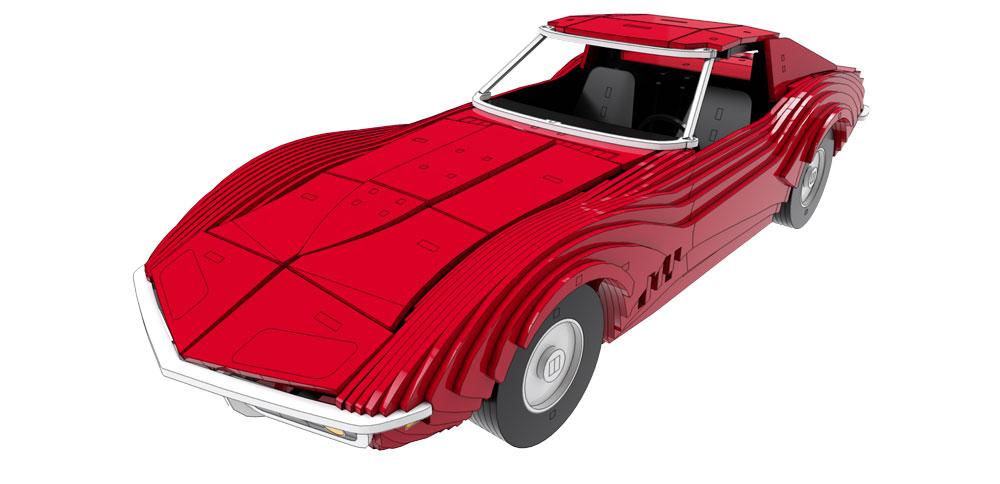 Corvette Stingray 1969 >> Chevrolet Corvette Stingray 1969 Automobile Cars Makecnc Com