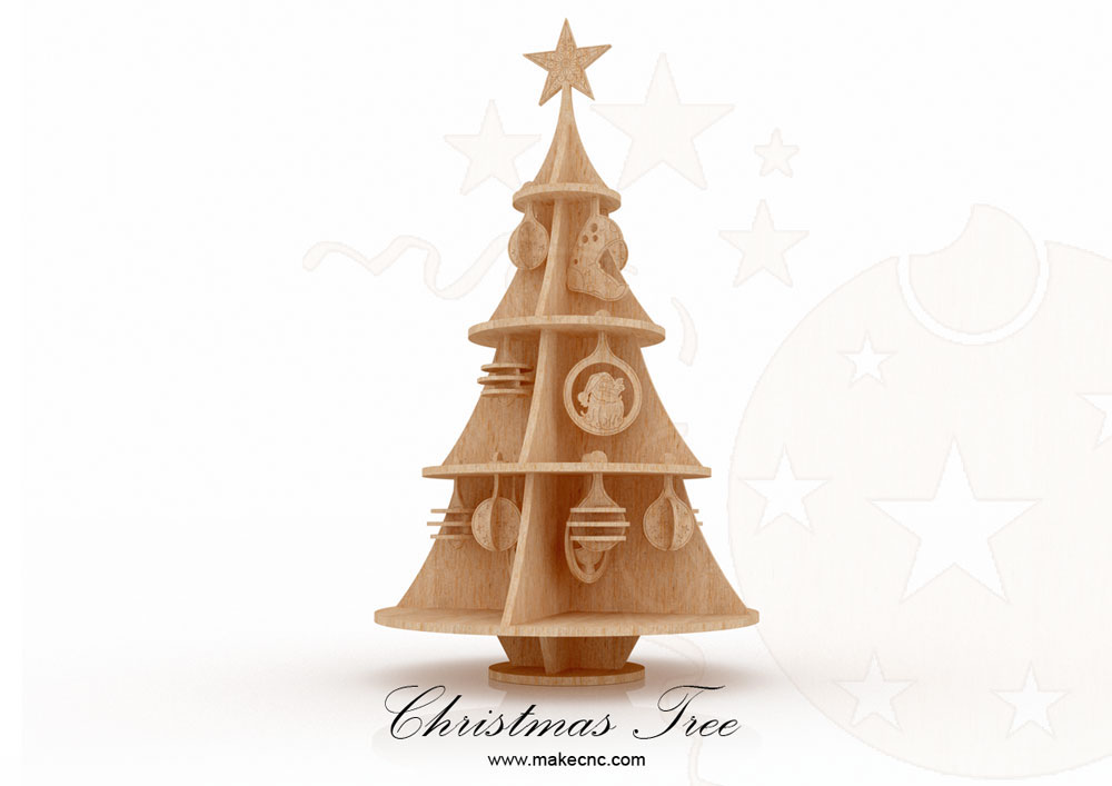 Christmas Tree supermodel Christmas MakeCNC Custom Christmas Scroll Saw Patterns