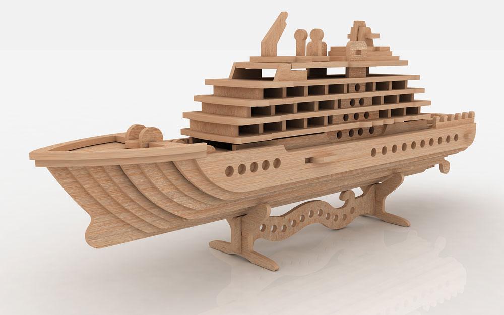 Cruise Ship - Ships & Boats | MakeCNC.com