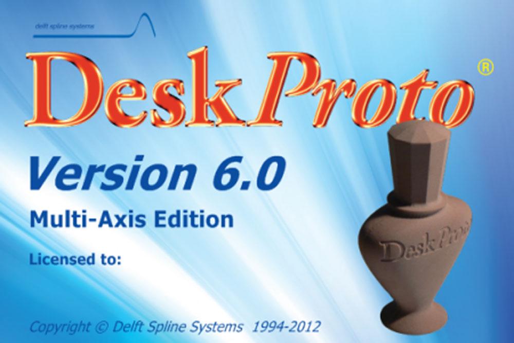 Deskproto True Multi 5 Axis Cam Software