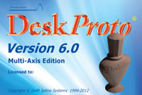 Deskproto True multi 5 Axis CAM software