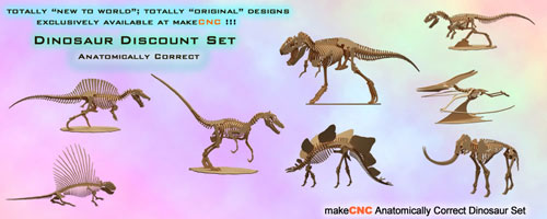Anatomically Correct Dinosaurs Volume One