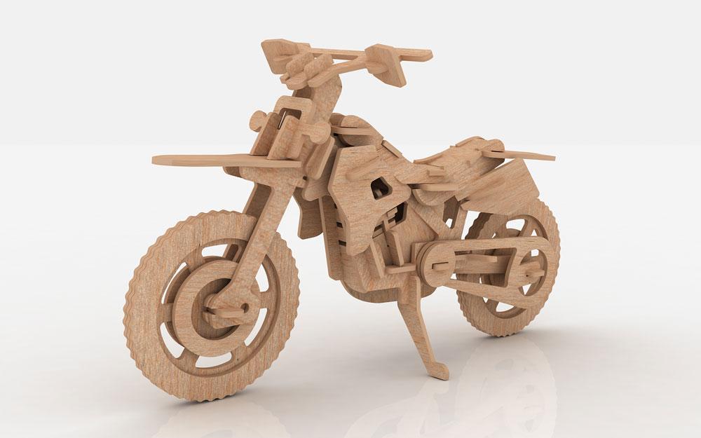 Motocross Dirt Bike Motorcycles Bikes Makecnc