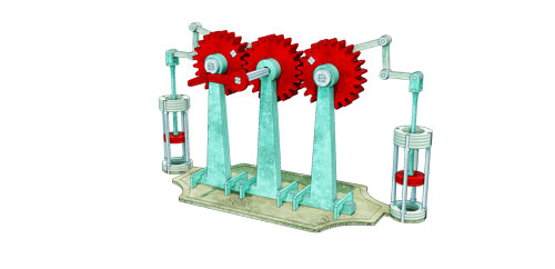 Crank Substitute Engine - Engine Series
