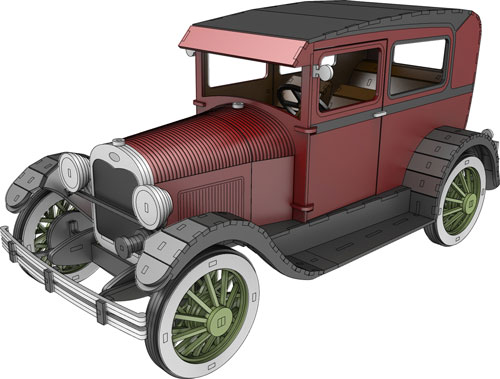 Ford A Model 1927- Automobile