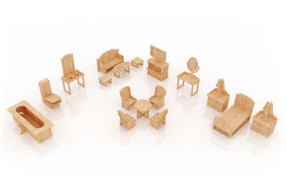 New Dollhouse Furniture Set Four MakeCNCcom