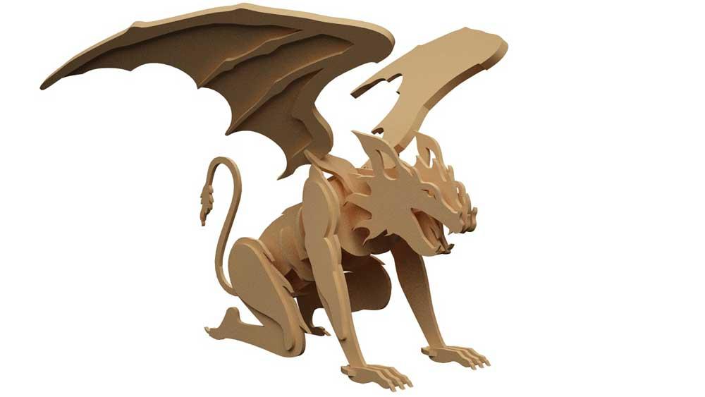 Gargoyle - Mythical | MakeCNC.com