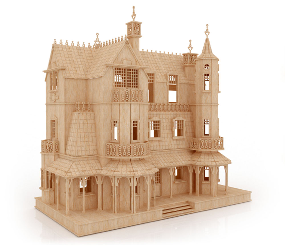 The Gothic Mansion - Mansions | MakeCNC.com