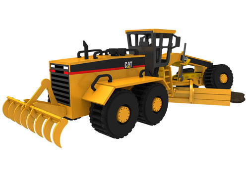 Caterpillar 24H Grader- Heavy Machines NEW