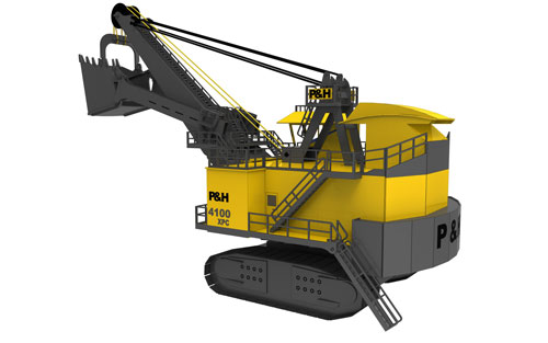 P&H 4100 XPC Shovel - Heavy Machines NEW