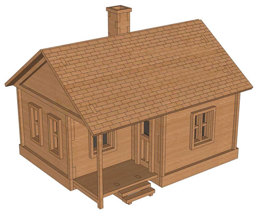 Dewey Beach House Ho Scale Model Railway Makecnc Com