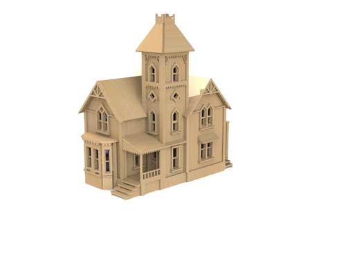 Grafton house ho scale model railway for Grafton house