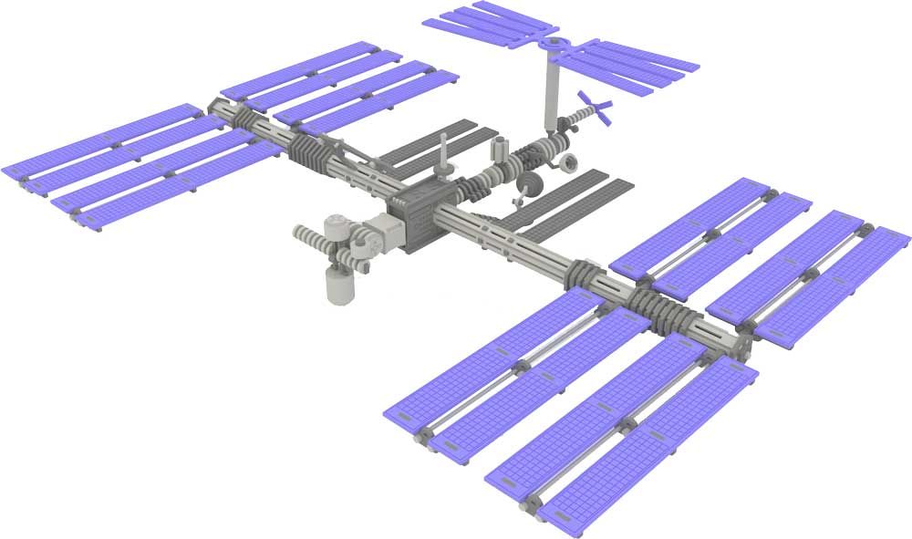 Iss International Space Station Space Makecnc Com