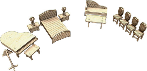 Little Princess Furniture Set Four