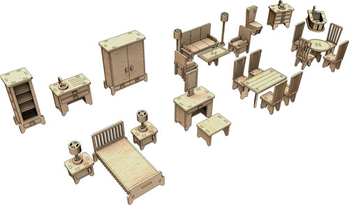 Little Princess Furniture Set Three