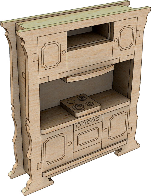 Little Princess Kitchen Cabinets