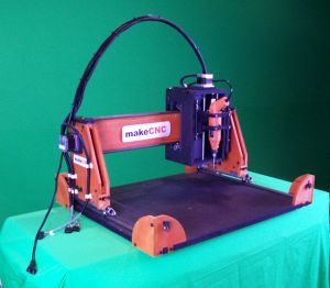 Instructables MakeMZbot CNC Router Plans