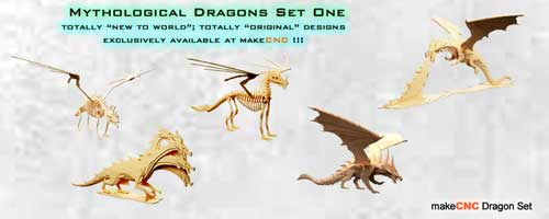 Mythological Dragons Set One