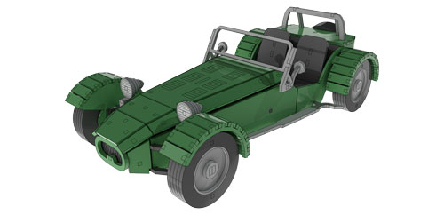Lotus Seven - Automobile