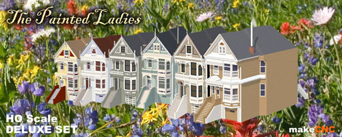 Painted Ladies Deluxe Set