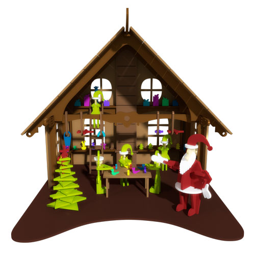 Santa's Workshop ( Premium Model)