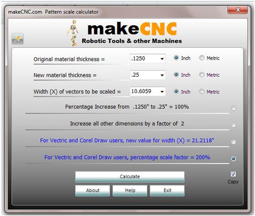 3d Scale Calculator