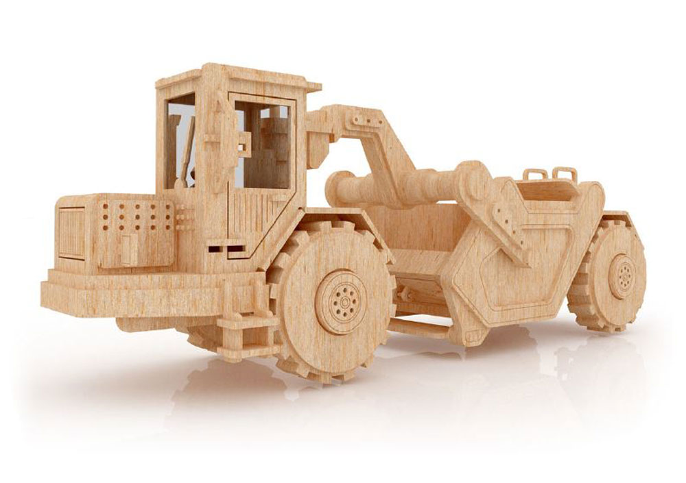 The Scraper - Heavy Machines   MakeCNC.com