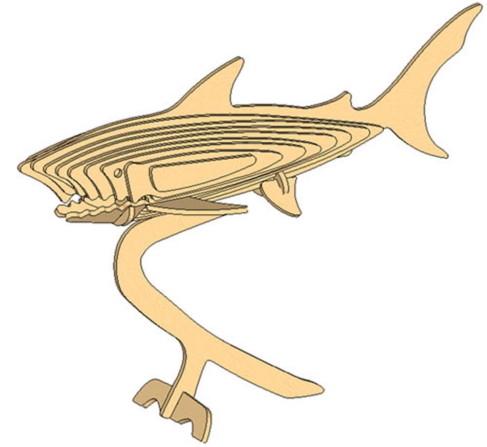 The Mighty Shark - Fish | MakeCNC.com