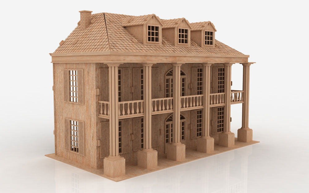 The Southern Mansion Mansions MakeCNCcom