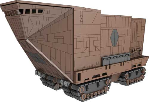 Sandcrawler - Star Wars Inspired