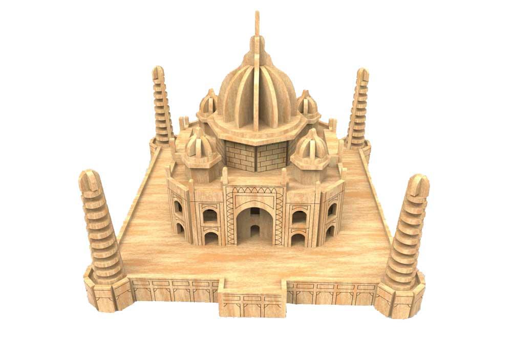 Taj Mahal Other Structures Makecnc Com