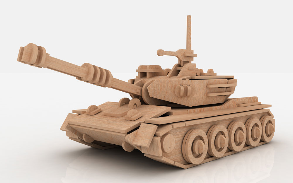 Tank - Artillery & Tanks | MakeCNC.com