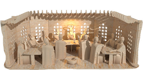 3d The Last Supper (Premium Model)
