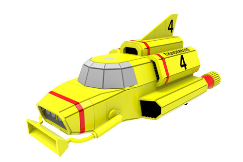 Thunderbird 4 - IR Underwater Rescue Vehicle