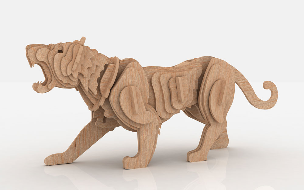 The Tiger - Wild | MakeCNC.com