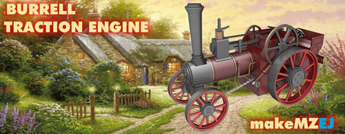 Burrell Traction Engine - Traction Engine