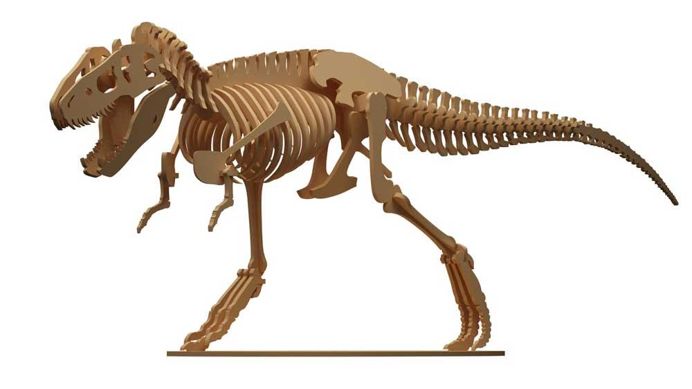 T-Rex Dinosaur (Anatomically Correct) - Dinosaurs | MakeCNC.com
