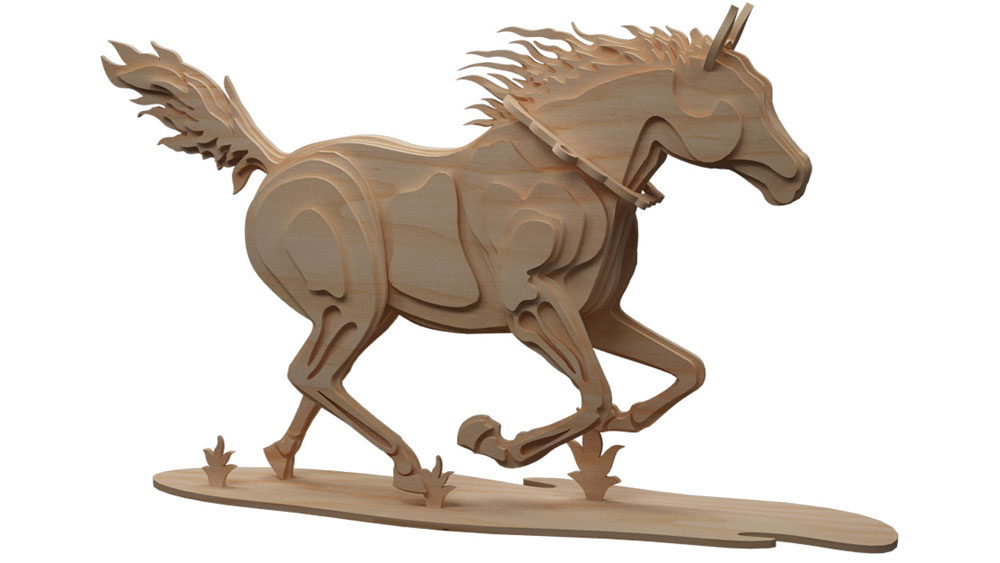 Trotting Horse 4 Discounts Applied To Prices At Checkout!