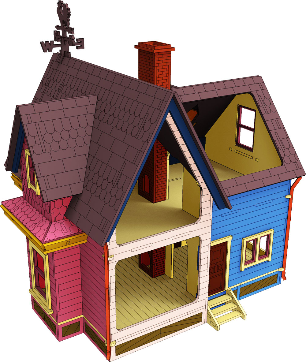 Up Dollhouse Houses Makecnc Com