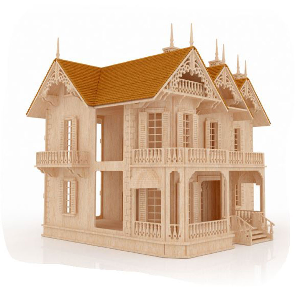 The Victorian Gothic Mansion - Mansions | MakeCNC.com