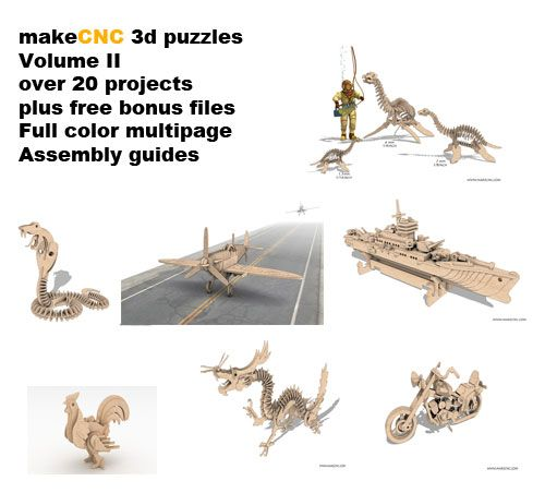 3d Puzzles Volume Ii Makecnc Volume Packs Makecnc Com