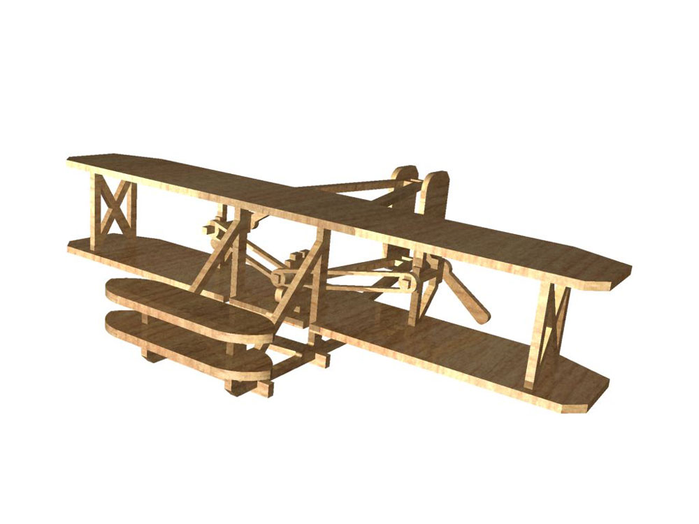 One wright brothers the fist plane nice