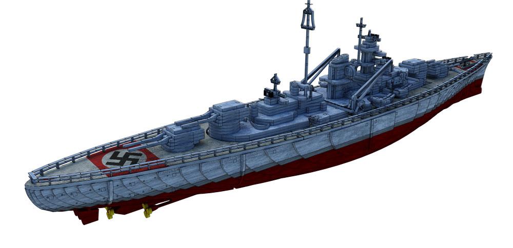 wwii bismark battleship ships boats makecnc com