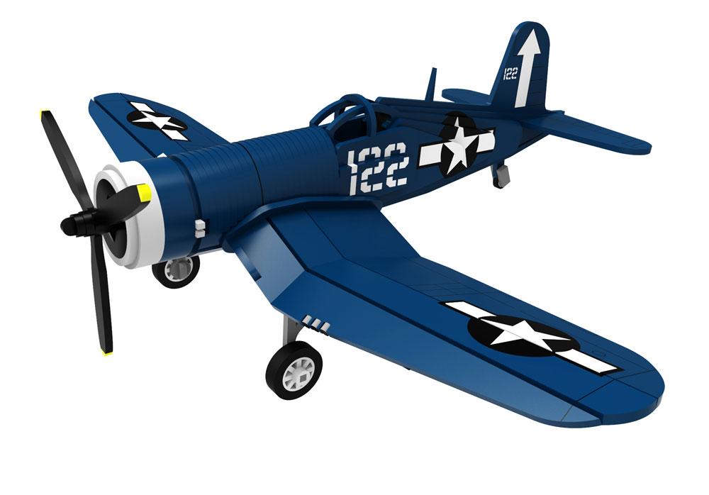 Wwii The Vought F4u Corsair Plane Aircraft Makecnc Com