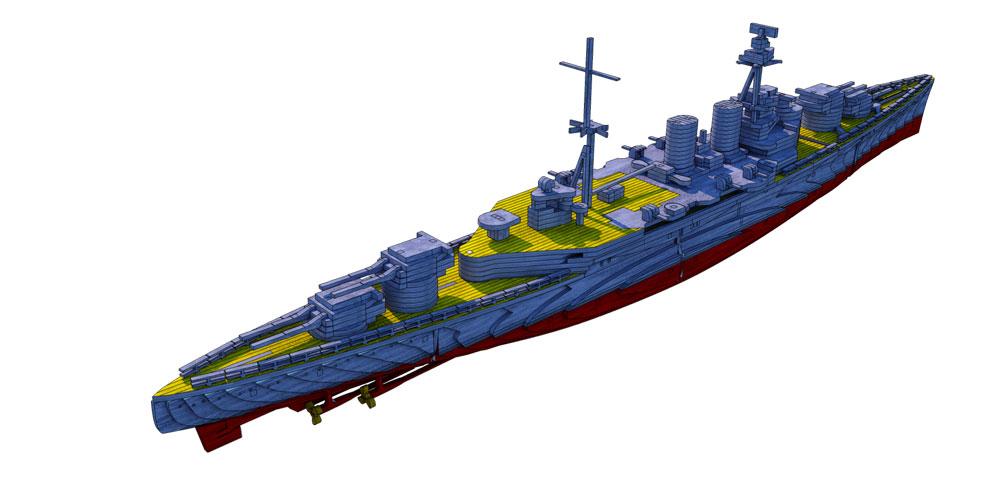 Wwii Hms Hood Battlecruiser Ships Amp Boats Makecnc Com