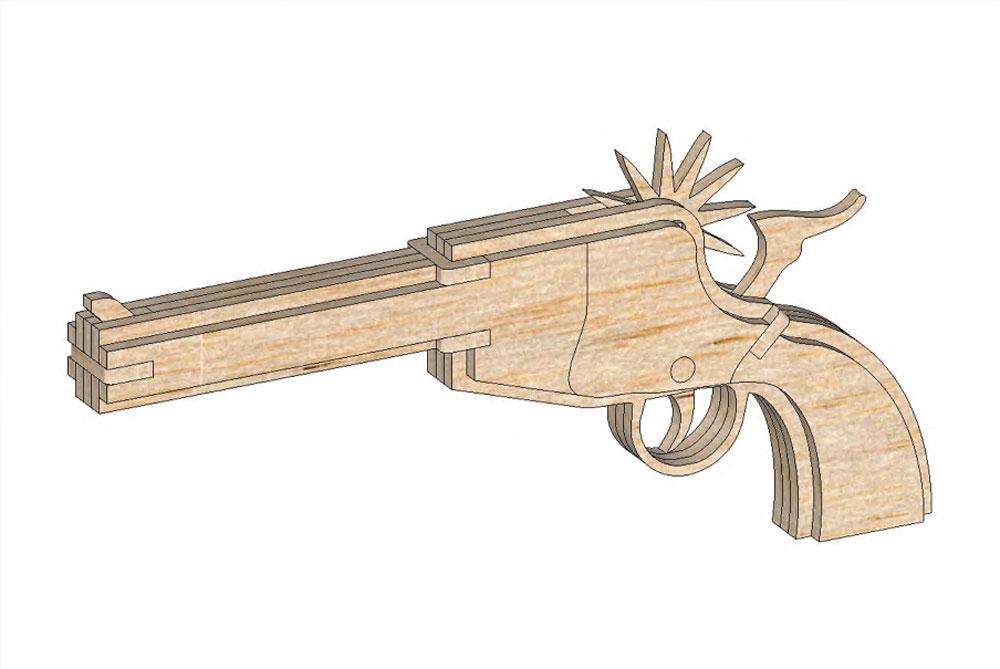 The Wyatt Earp (Rubberband Gun) - Rubberband Guns ...